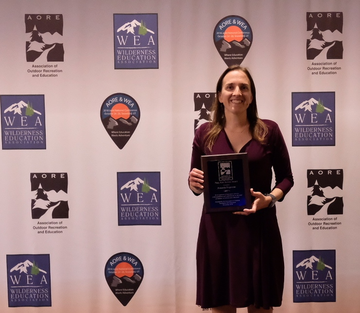 Patsy Kott Service Award: Amanda Preperato