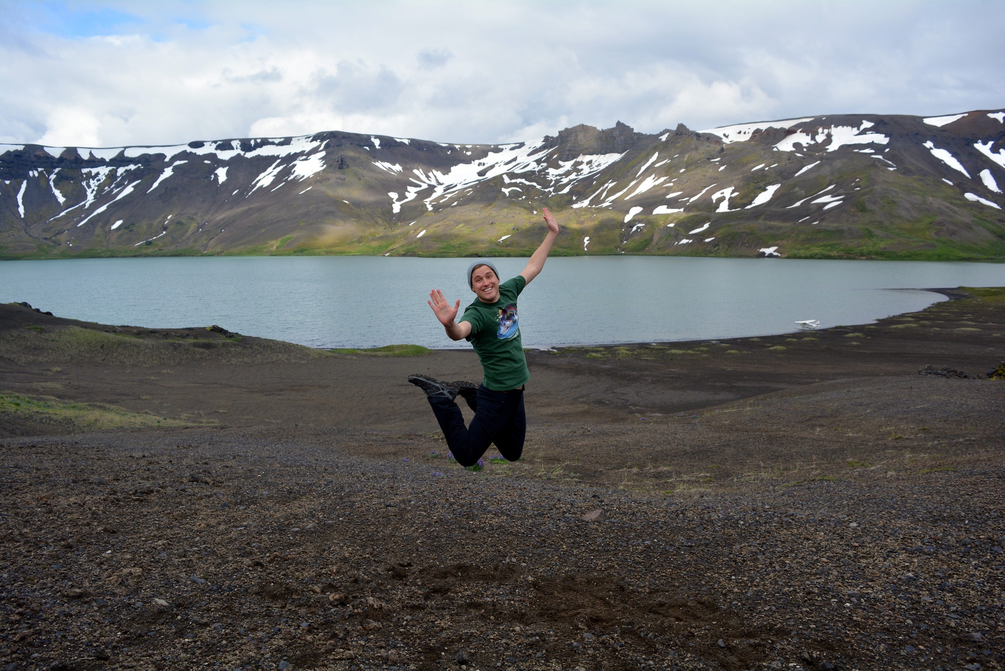 Mikah Meyer at Aniakchak National Monument June 2018