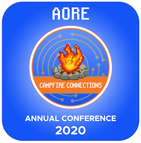 AORE Annual Conference 2020 Virtual Logo | Campfire Connections