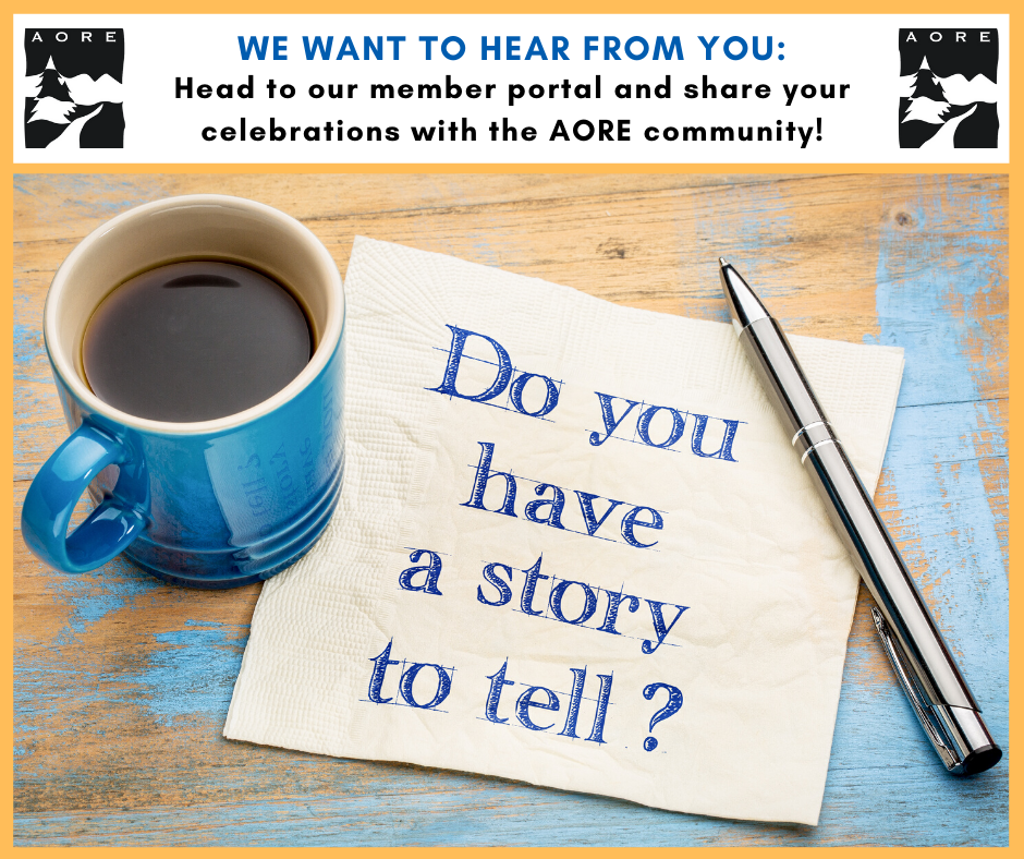 AORE story submission form - recognition committee