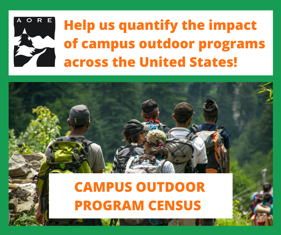 campus outdoor program census - AORE R&P Committee Survey