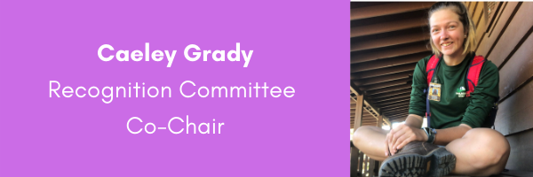 Caeley Grady, AORE Recognition Committee Co-Chair