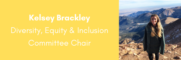 Kelsey Brackley, AORE Diversity Equity and Inclusion Committee Chair
