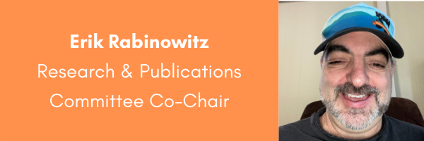 Dr Erik Rabinowitz, AORE Research and Publications Committee Co-Chair