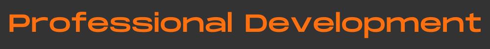 professional development header
