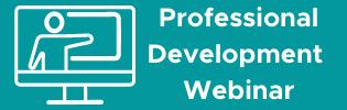 professional development webinar banner