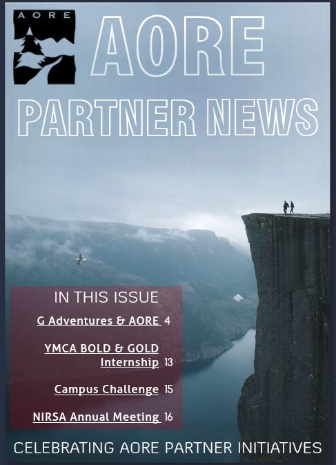 AORE Partner News, December 2018