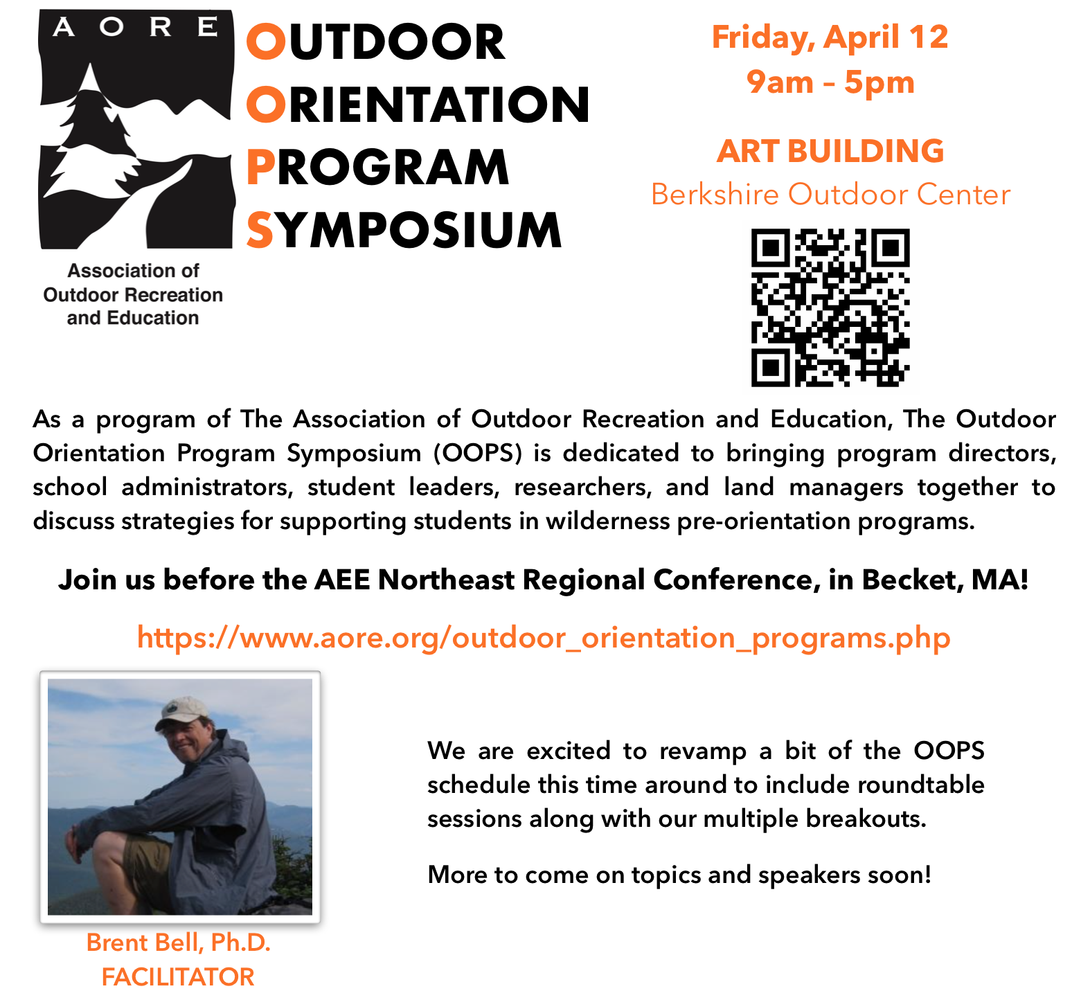 OOPS Pre-Conference for AEE Northeast Regional Conference