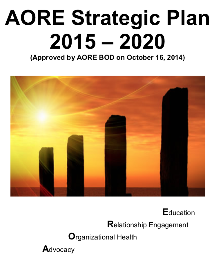 AORE Strategic Plan 2015-2020