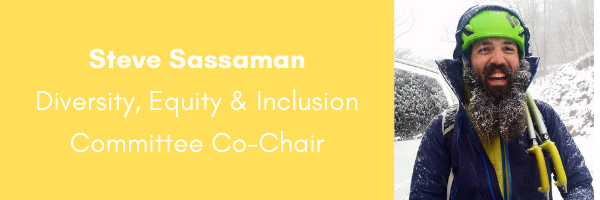 AORE Diversity Equity and Inclusion Committee Co-Chair- Steve Sassaman