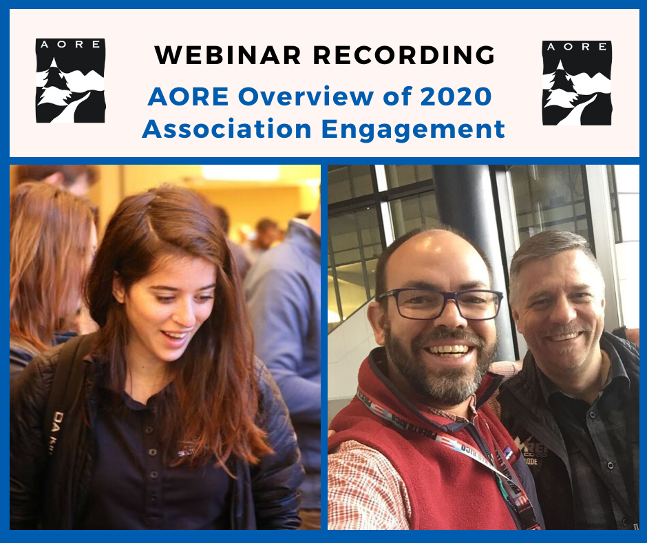aore association engagement webinar recording