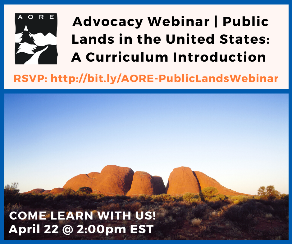advocacy public lands in the us webinar promotion