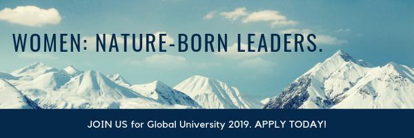 Women: Nature-Born Leaders. Global University 2019