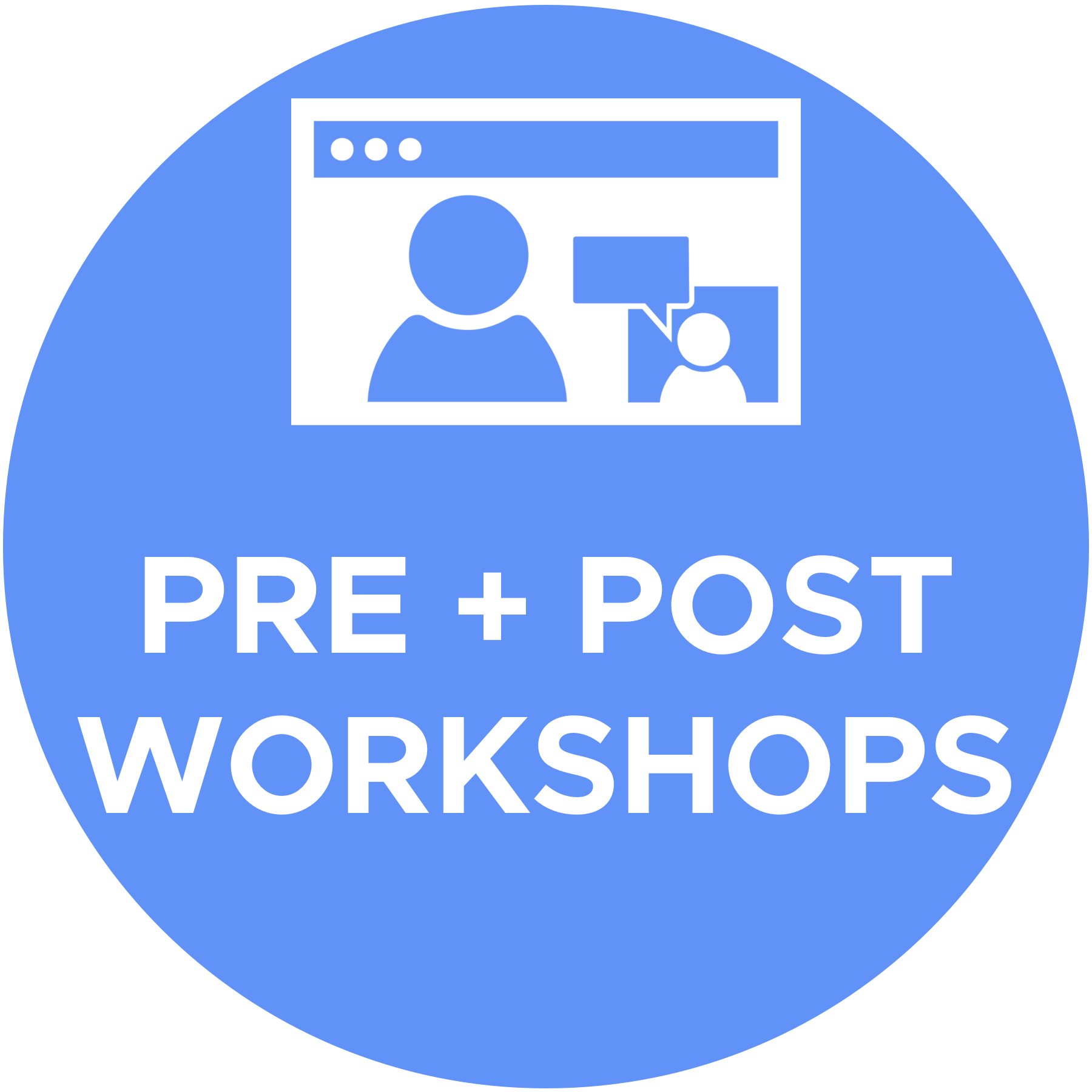 Pre + Post Conference Workshops